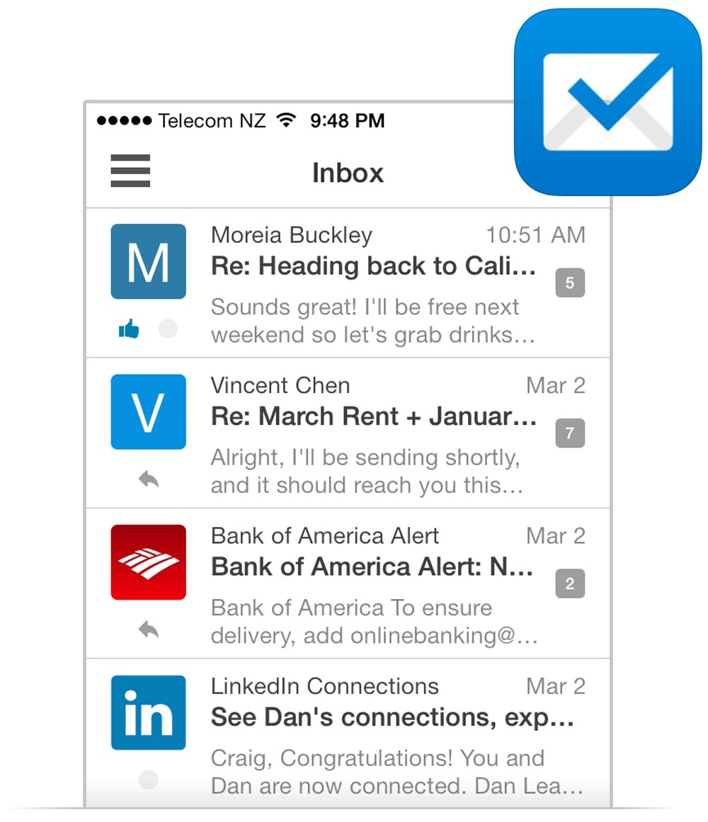 Redesigning Boxer's Inbox - The Kinetic UI