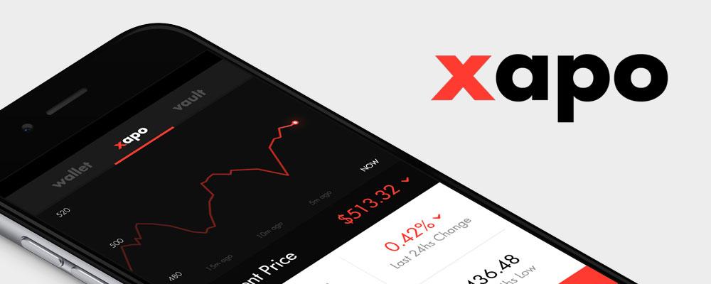 Xapo iOS app redesign