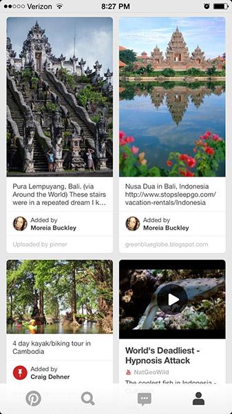 Pinterest Grid